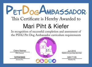 Pet Dog Ambassador Program